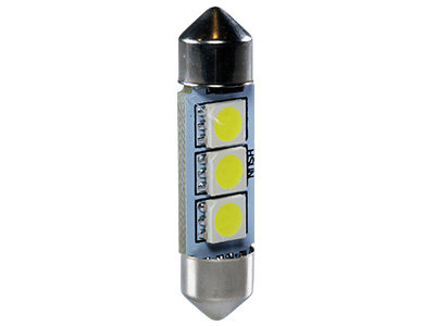 LED CAN-bus auto spuldze XTECH SV8.5 36mm (2 gab.)