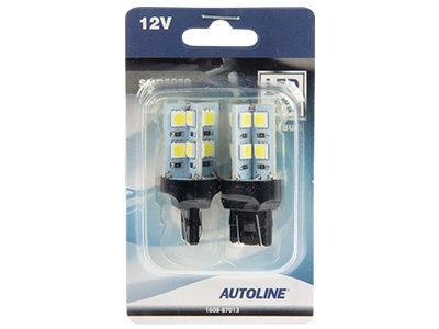 LED CAN-bus auto spuldze AUTOLINE T20 W21 (2 gab.)