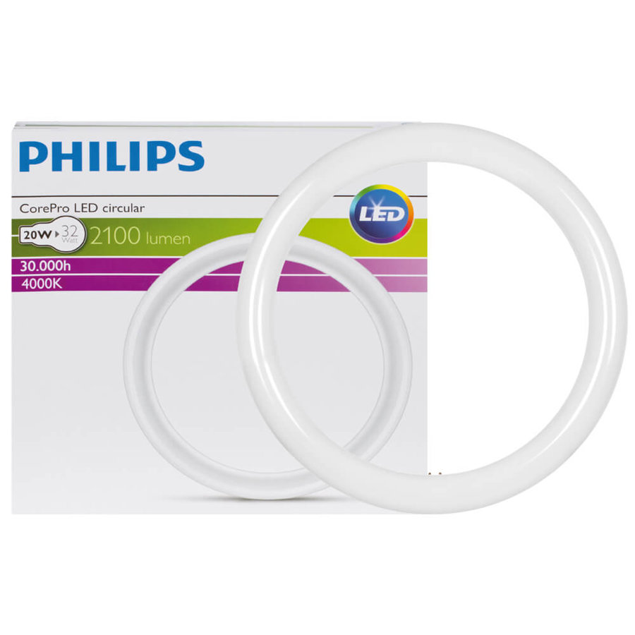 20W (32W) 4000K LED spuldze PHILIPS G10Q