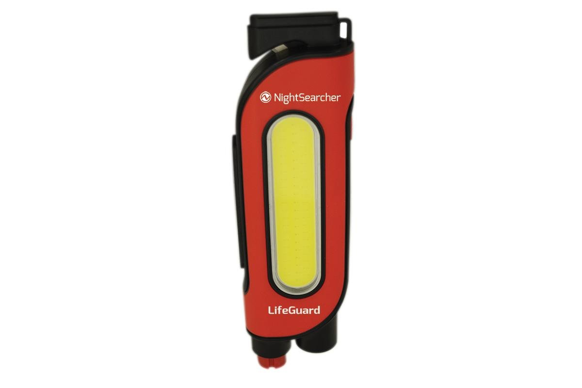 200lm LED kabatas lukturis NightSeatcher LifeGuard