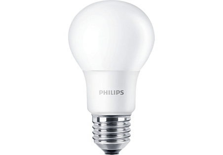 5W (40W) 2200-2700K CRI90 dimmējama LED spuldze PHILIPS A60