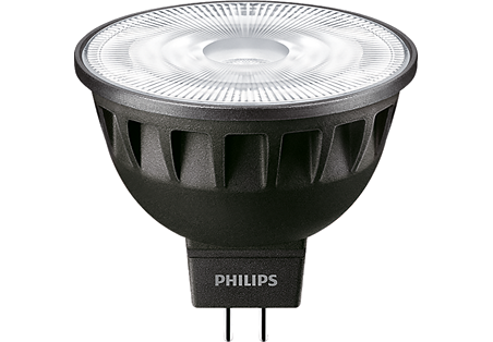 6,5W (35W) 440lm 3000K CRI97 24° dimmējama LED spuldze PHILIPS MR16