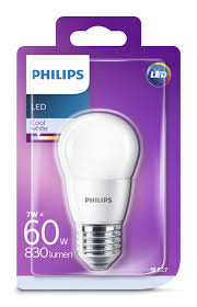 7W (60W) 4000K LED spuldze PHILIPS P45