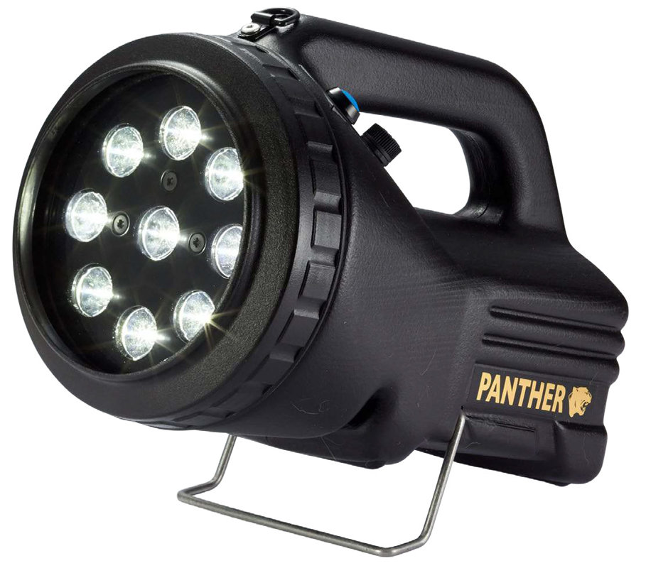 1500lm LED lukturis PANTHER LITE ar 7,8Ah akumulatoru