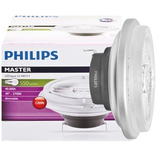 11W (50W) 2700K dimmējama LED spuldze PHILIPS AR111
