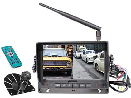 "7"" auto bezvadu HD digitālais displejs S-VISION 1705-00055-HD"