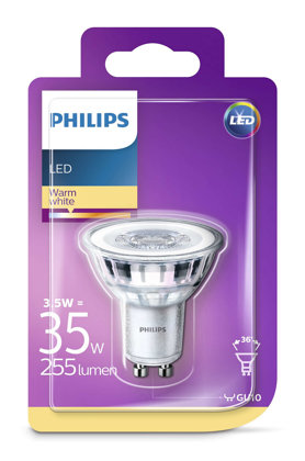 3,5W (35W) LED spuldze PHILIPS GU10