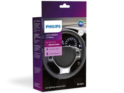 Philips LED CANbus H11 spuldžu adapteris (2 gab.)