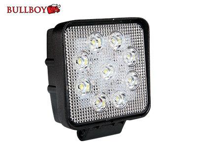 27W 1800lm 6000K LED papildlukturis BULLBOY