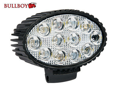 36W 2400lm 6000K LED papildlukturis BULLBOY