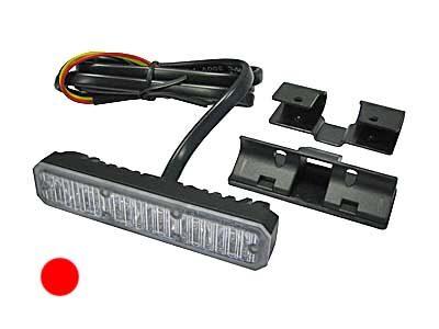 LED signāllampa AXIXTECH 1603-300504 (sarkana)