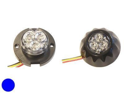 LED signāllampa AXIXTECH 1603-300548 (oranža, zila)