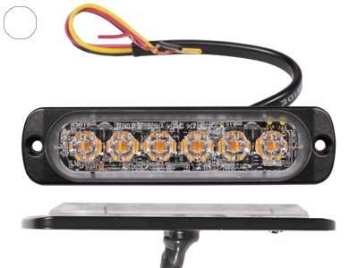 LED signāllampa AXIXTECH ST6 (oranža, balta, zila)