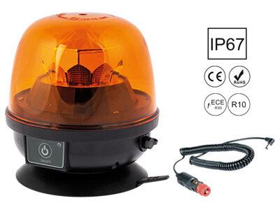 LED bākuguns AUTOLINE ar akumulatoru (oranža)