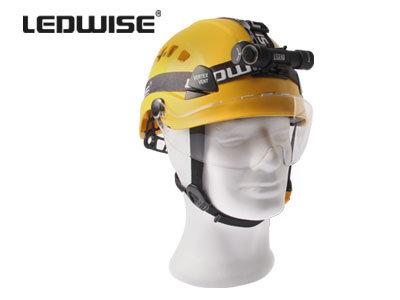 1700lm LED galvas lukturis LEDWISE LEGEND Cold ar akumulatoru