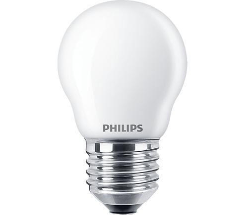 2.2W (25W) 2700K nemirgojoša LED spuldze PHILIPS P45