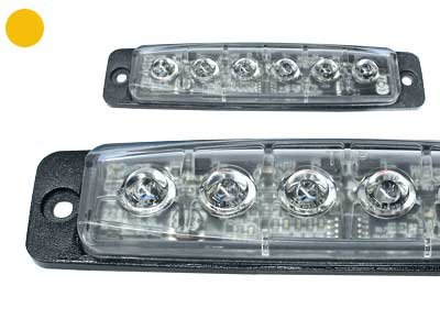 LED signāllampa 40-F6H (oranža)