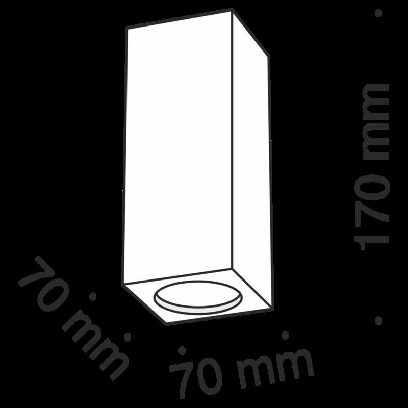 1xGU10 ģipša ietvars CONIK