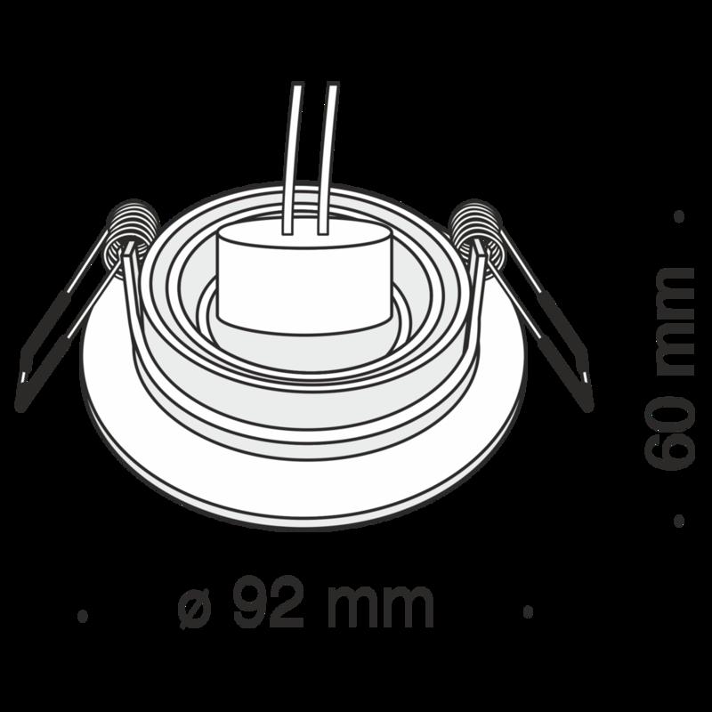 1xGU10 ietvars ar maināmu leņķi ATOM