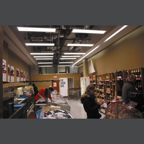 42W 4245lm 4000K LED panelis ar avārijas gaismu BURGAS