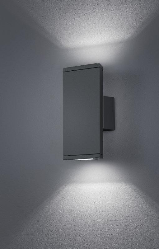 2x3W 2x260lm 3000K LED fasādes apgaismojums COLORADO
