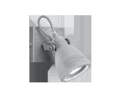 Sienas lampa CONCRETE