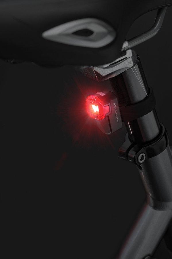35 lux LED velosipēda lukturu komplekts AXA CompactLine 35