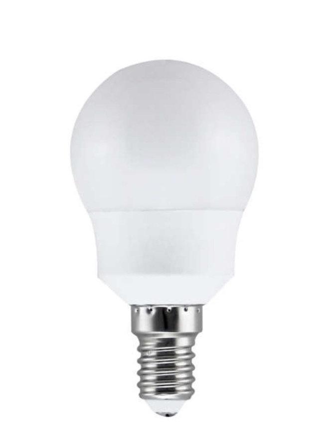 E14 8W (60W) 2700K nemirgojoša LED spuldze LEDURO G45
