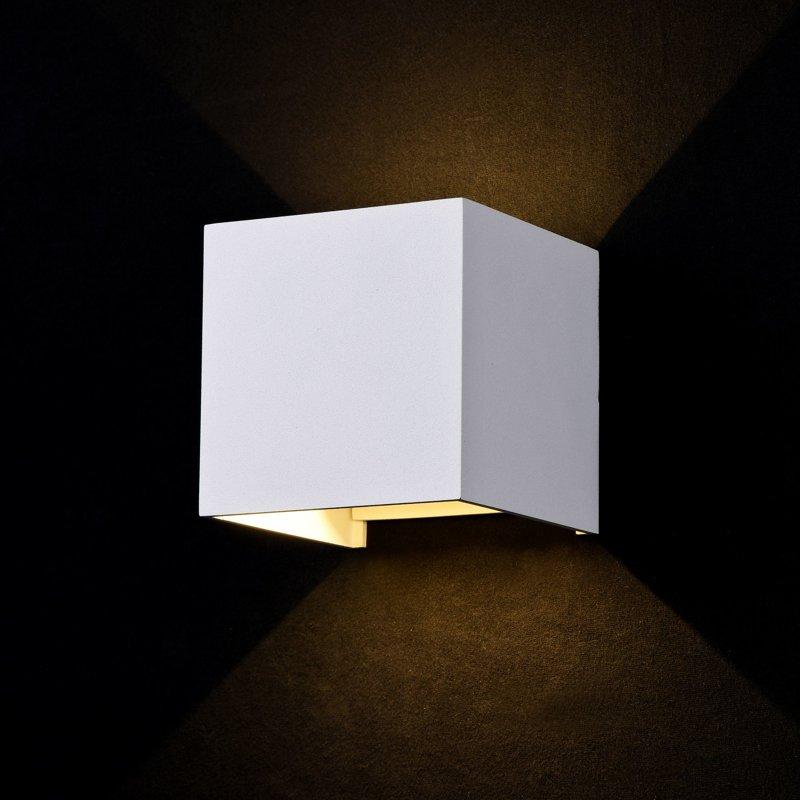 6W 500lm 3000K LED fasādes apgaismojums FULTON