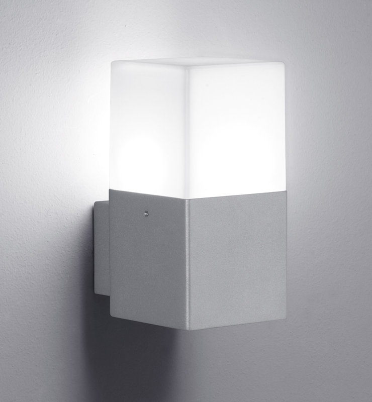 4W 320lm 3000K LED fasādes apgaismojums HUDSON