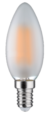 6W (55W) 3000K LED filament spuldze LEDURO B35