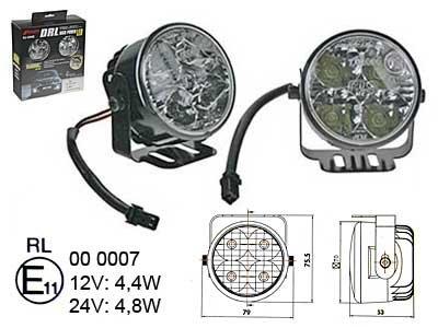 LED dienas gaitas lukturis 1605-NS1288 ar releju (2 gab.)