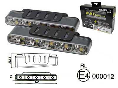 LED dienas gaitas lukturis 1605-NS1296 (2 gab.)
