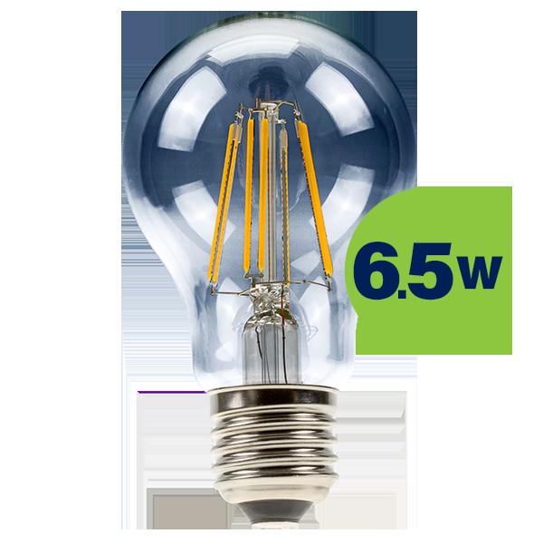 6,5W (60W) 2700K LED filament spuldze LEDURO A60