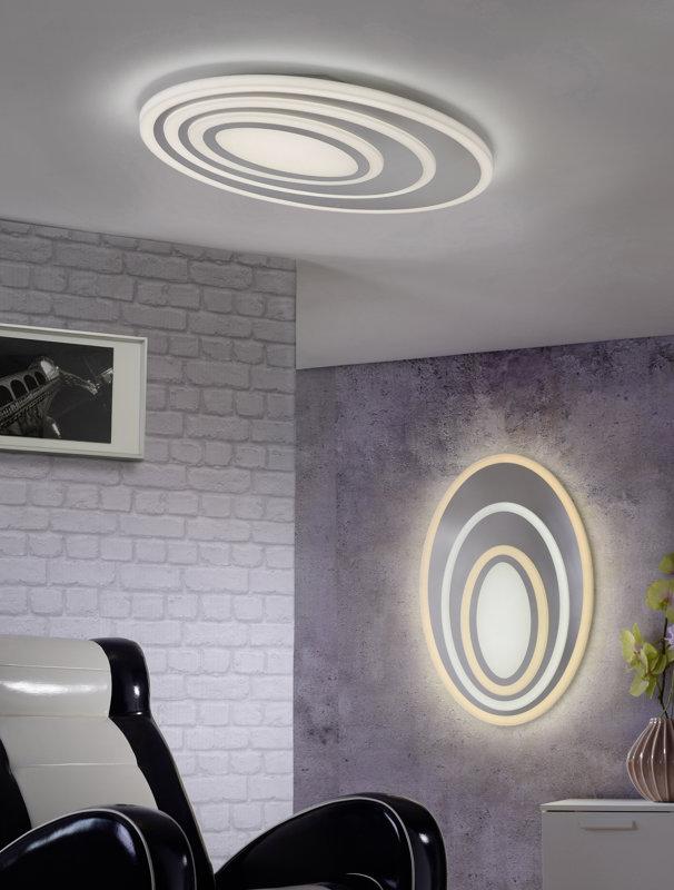 58W 5400lm 3000-5500K LED griestu lampa SUBARA ar pulti