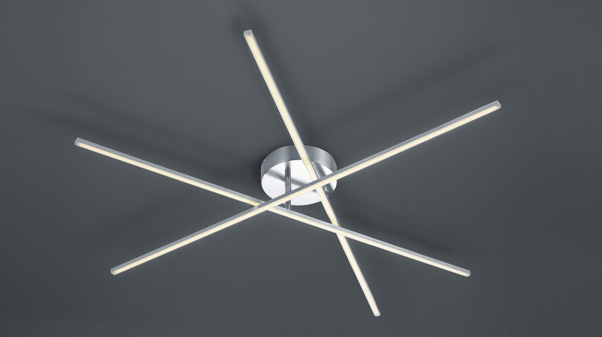 25,5W 2850lm 3000K LED griestu lampa TIRIAC ar gaismas regulatoru