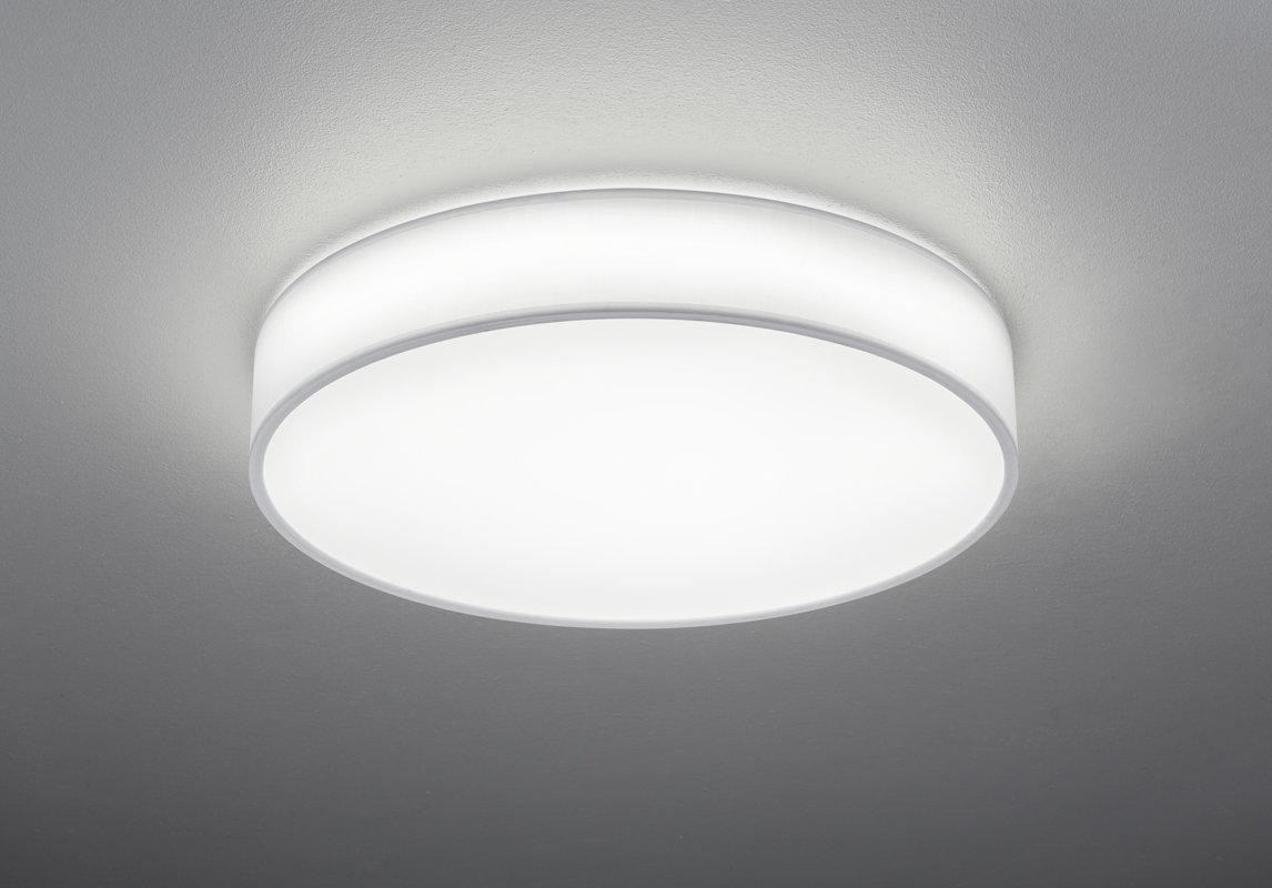 40W 3300lm 3000-5000K LED griestu lampa LUGANO ar gaismas regulatoru