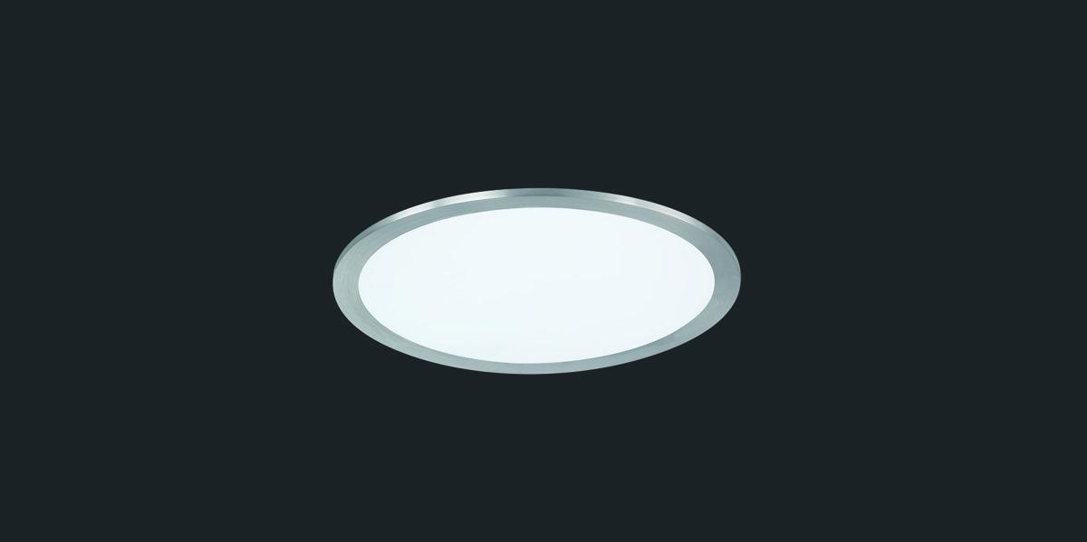 25W 2500lm 3000K dimmējams LED plafons PHOENIX
