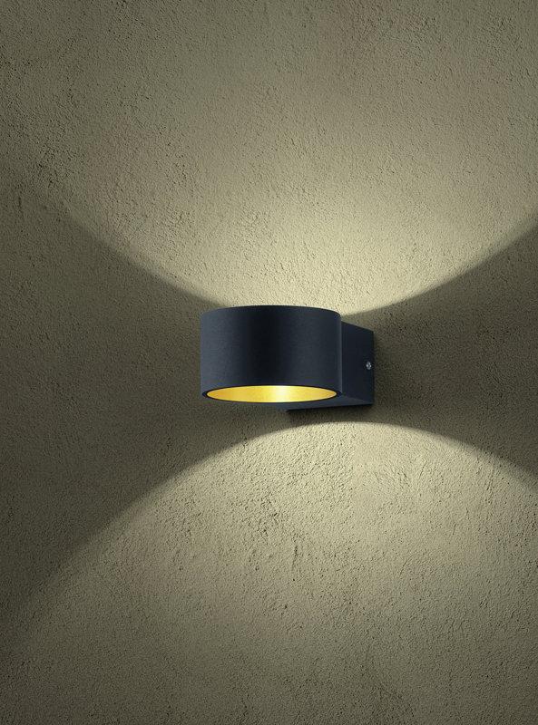 4,3W 430lm 3000K LED sienas lampa LACAPO