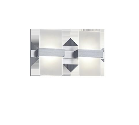 9W 860lm 6000K LED sienas lampa PLATON