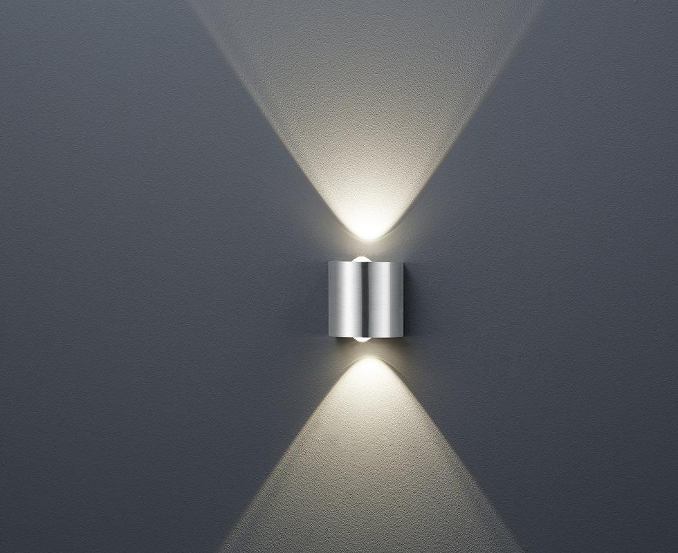6,4W 600lm 3000K LED sienas lampas WALES