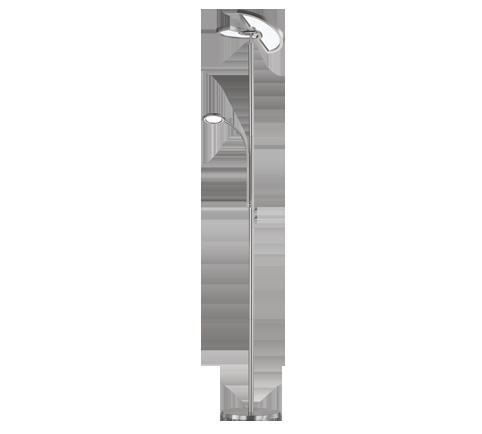 23,5W 2340lm 3000-6500K LED stāvlampa SPLIT ar gaismas regulatoru
