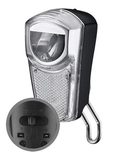 30 lux LED velosipēda priekšējais lukturis MARWI UN-4265 HILUX priekš dinamo