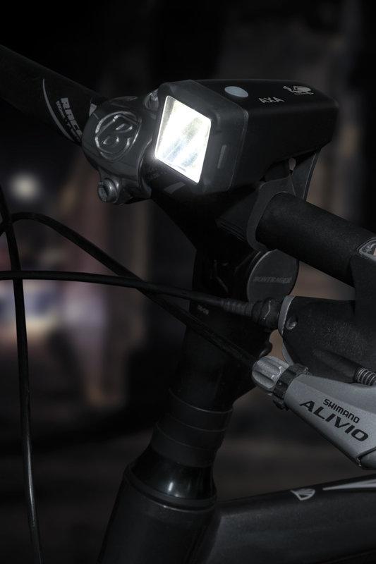 2 x 1 LED velosipēda lukturu komplekts AXA NITELINE T1