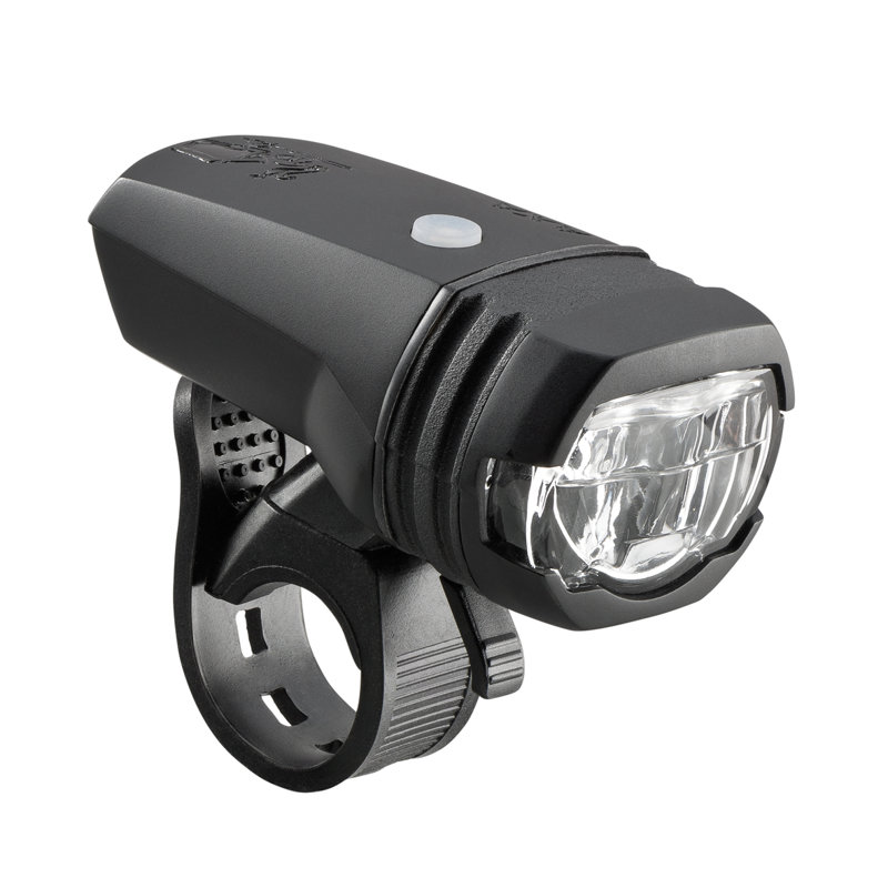 50 lux LED velosipēda priekšējais lukturis AXA GREENLINE ar akumulatoru