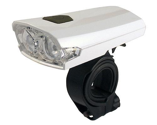 4 lux LED velosipēda priekšējais lukturis MARWI UN-160 ar akumulatoru