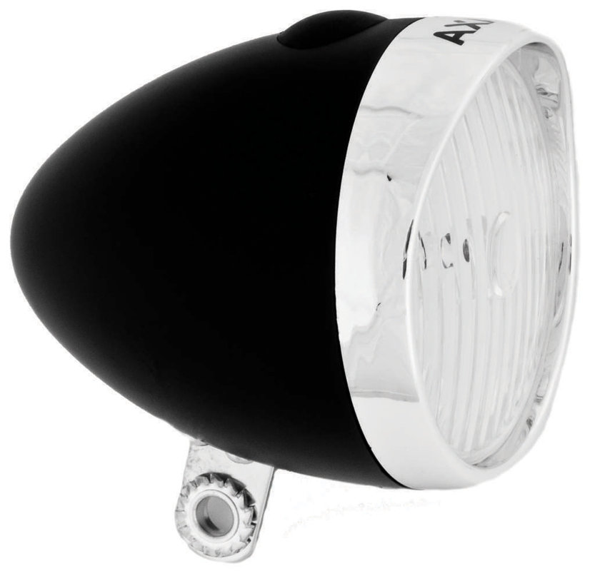 4 lux LED velosipēda priekšējais lukturis AXA Classic
