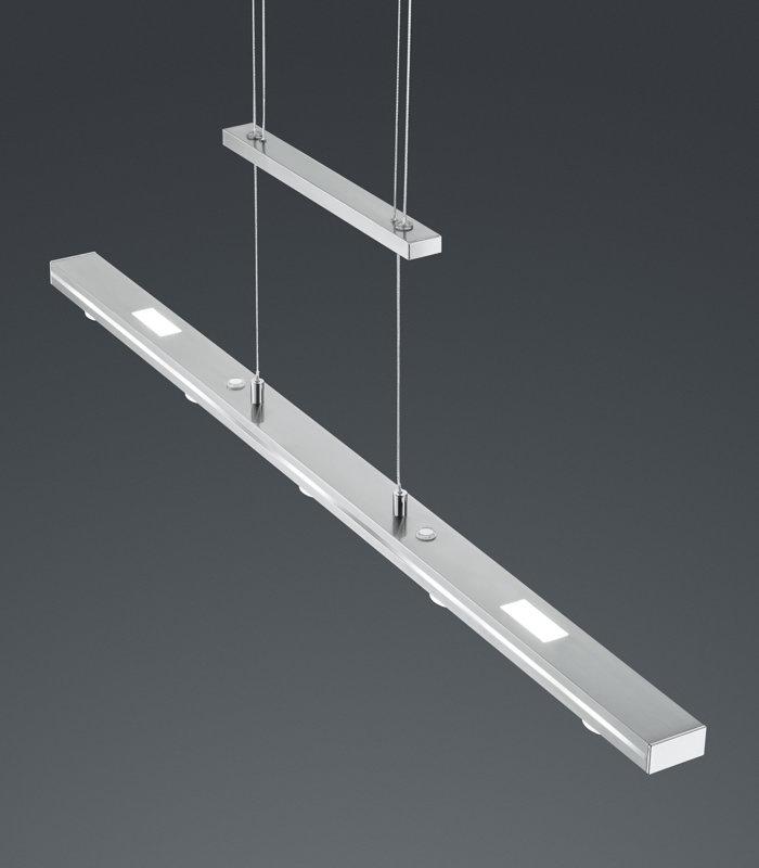 24,5W 2450lm 3000-5000K LED lustra LACAL ar gaismas spilgtuma un toņa regulatoru