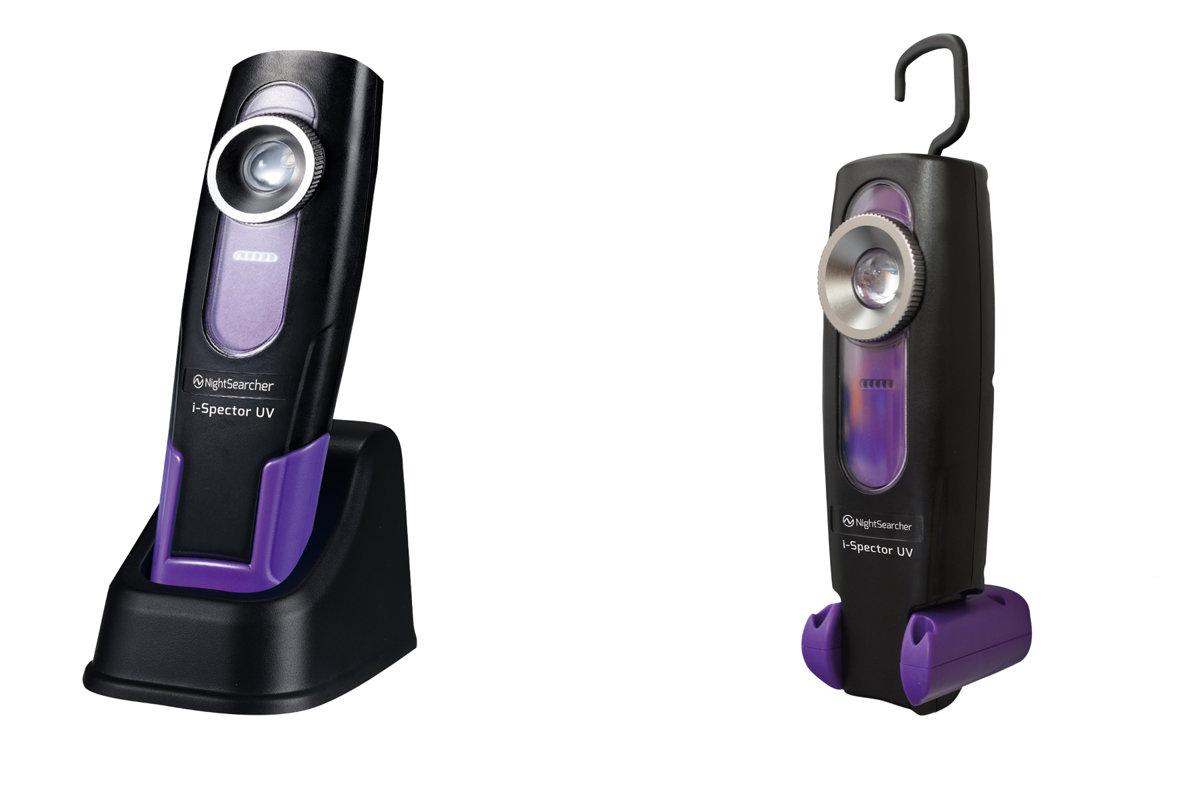 LED UV lukturis SPECTORUV ar akumulatoru