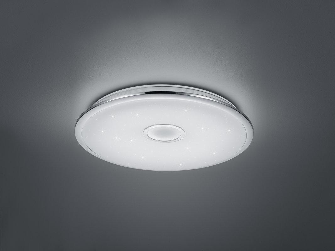 100W 9800lm 3000-5500K LED griestu lampa OSAKA ar pulti